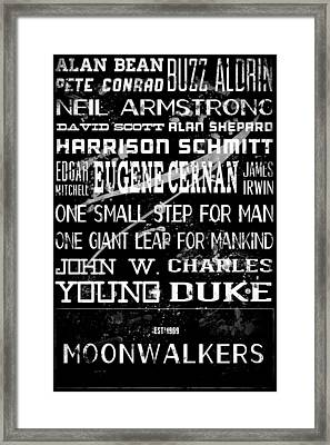 Moonwalkers Framed Print by Tanya Harrison