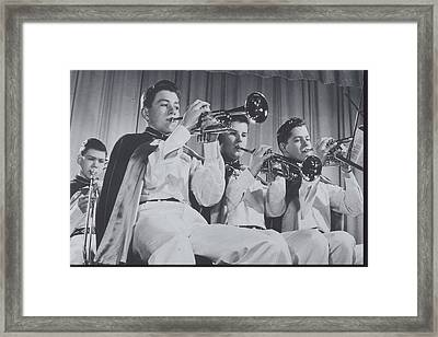 Mooseheart High School Band, 1950 Framed Print by Archive Holdings Inc.