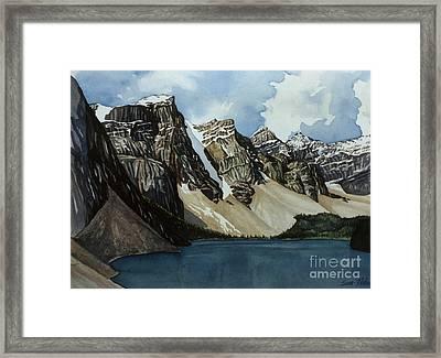Moraine Lake Framed Print by Scott Nelson