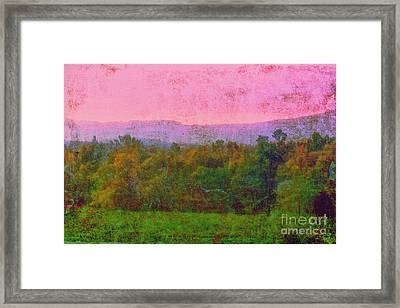 Morning In The Mountains Framed Print by Judi Bagwell