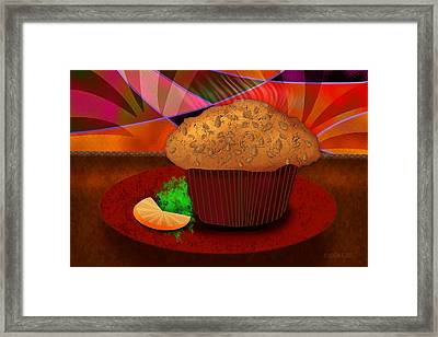 Morning Muffin Framed Print by Melisa Meyers
