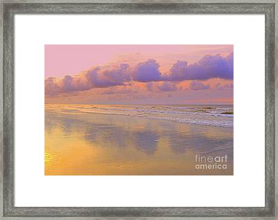 Morning On The Beach  Framed Print by Lydia Holly