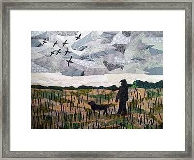 Morning Walk Framed Print by Charlene White