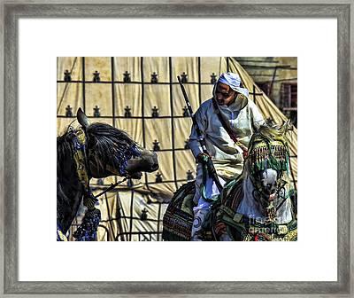 Morocco Festival II Framed Print by Chuck Kuhn