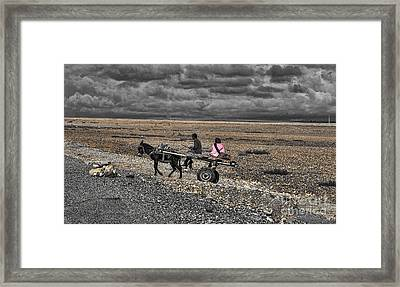 Morocco Travel II Framed Print by Chuck Kuhn