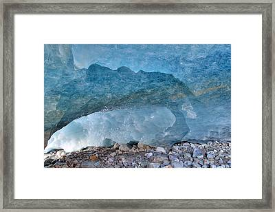 Morteratsch Glacier, Switzerland Framed Print by Michael Szoenyi