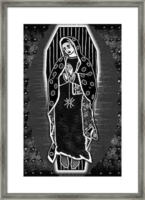 Morticia Guadalupe' Framed Print by Travis Burns