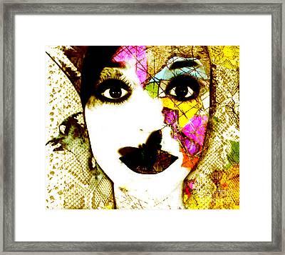Mosaic Framed Print by Jenn Bodro