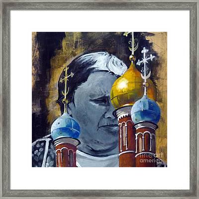 Moscow Framed Print by Martina Anagnostou