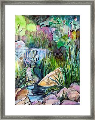 Moses In The Bull Rushes Framed Print by Mindy Newman