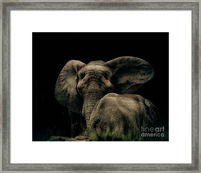 Mother And Child Framed Print by Arne Hansen