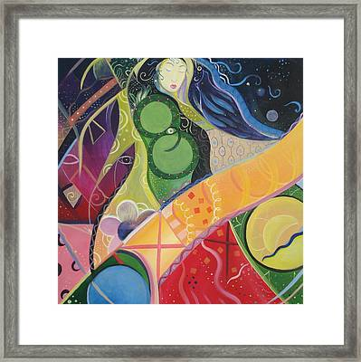 Mother And Matter Framed Print by Helena Tiainen