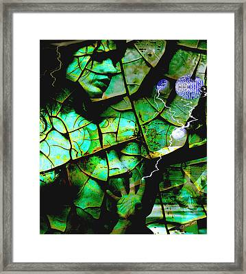 Mother Earth Framed Print by Yvon van der Wijk