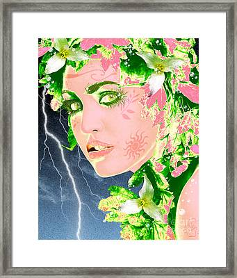 Mother Nature Framed Print by Methune Hively