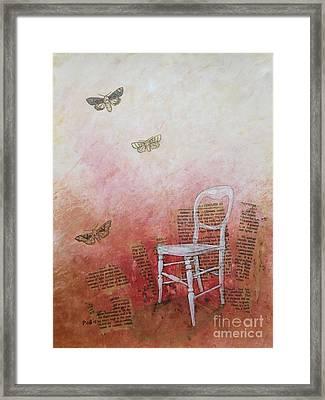 Moths Framed Print by Paul OBrien