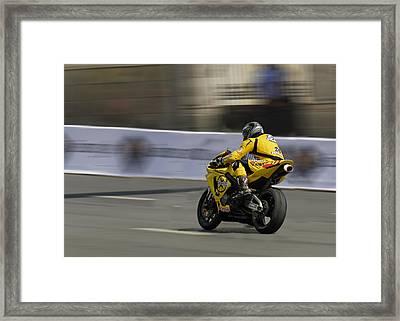 Motorbike Framed Print by Igor Sinitsyn