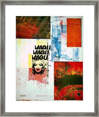 MOU Framed Print by David Deak
