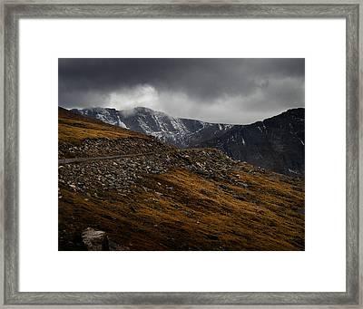 Mount Evans Framed Print by Jim Painter
