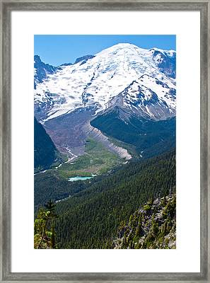 Mount Rainier Xi Framed Print by David Patterson