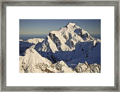 Mount Tutoko At Dawn Hollyford Valley Framed Print by Colin Monteath