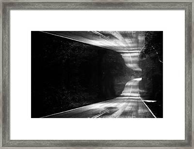 Mountain Road Dream Framed Print by Matt Hanson