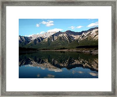 Mountain View Framed Print by Jonathan Lagace