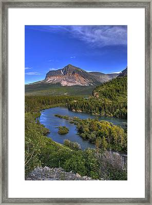 Mountana Wilderness Framed Print by Don Wolf