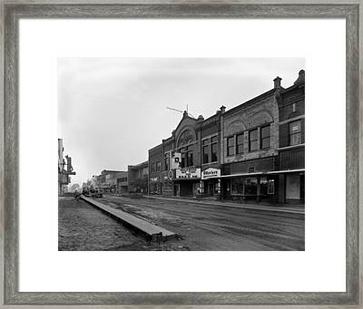 Movie Theaters, The G.f. Andrae Opera Framed Print by Everett