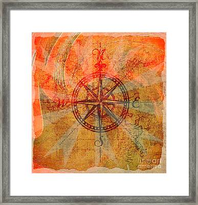 Moving In The Right Direction Framed Print by Fania Simon