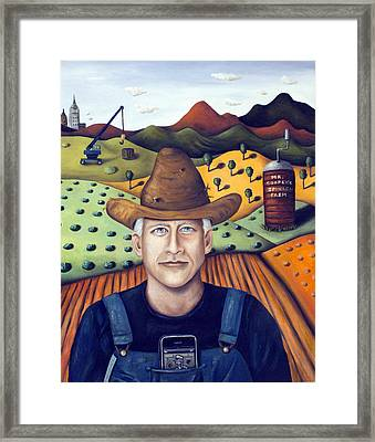 Mr Cooper's Spinach Farm Framed Print by Leah Saulnier The Painting Maniac