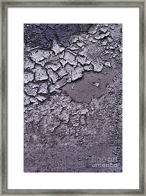 mud Framed Print by HD Connelly