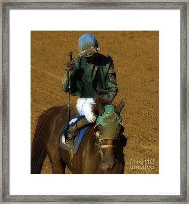 Mud Sweat And Tears  Framed Print by Steven  Digman