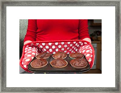 Muffins Framed Print by Tom Gowanlock