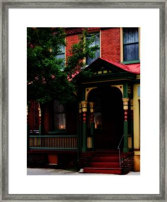Multi Color Framed Print by Jessica Baker