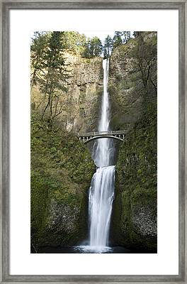 Multnomah Falls Framed Print by Peter French - Printscapes