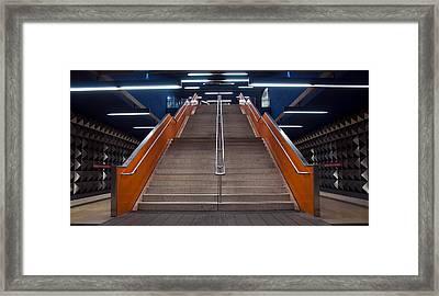 Munich Subway No.4 Framed Print by Wyn Blight-Clark