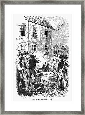 Murder Of Smith, 1844 Framed Print by Granger
