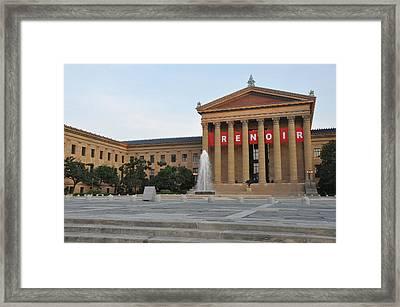 Museum Of Art - Philadelphia Framed Print by Bill Cannon