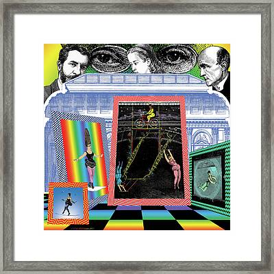 Museum Of The Sylphs Framed Print by Eric Edelman