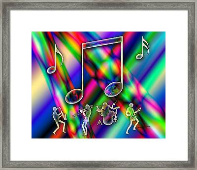 Music Framed Print by Anthony Caruso