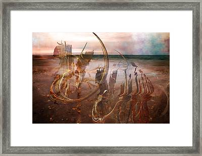 Music By The Sea Framed Print by Betsy C Knapp