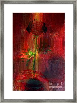 Musical Flower Framed Print by Fania Simon