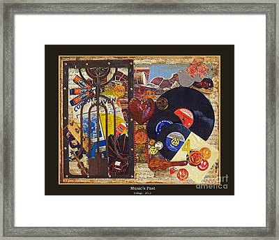 Music's Past - 2012 Framed Print by Tammy Ishmael - Eizman