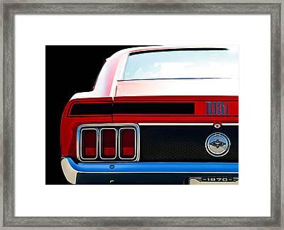 Mustang Mach 1 Framed Print by Douglas Pittman