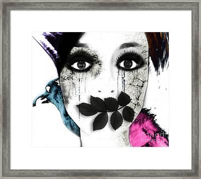 Mute Framed Print by Jenn Bodro