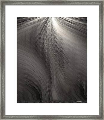 Muted Framed Print by Ines Garay-Colomba