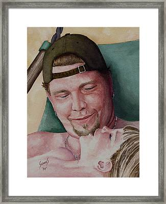 Mutual Admiration Framed Print by Sam Sidders