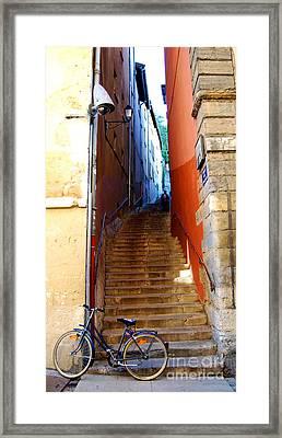My Bicyclette Framed Print by Mona Edulesco