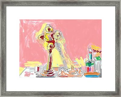 My Dresser Framed Print by Anita Dale Livaditis