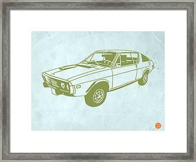 My Favorite Car 2 Framed Print by Naxart Studio